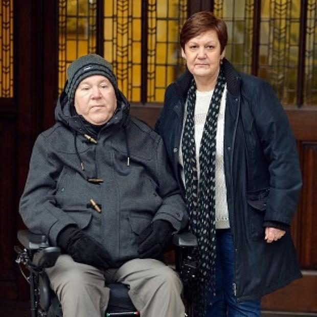 Lancaster And Morecambe Citizen: Supreme Court justices ruled against Jane Nicklinson, whose late husband Tony suffered locked-in syndrome, and Paul Lamb