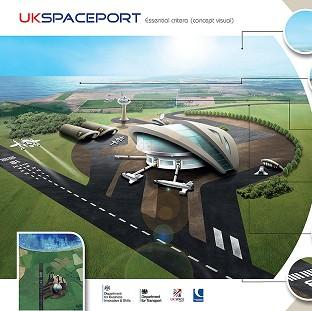Lancaster And Morecambe Citizen: Undated UK Space Agency handout image showing how Britain's first spaceport may look, as eight sites have been named as possible locations