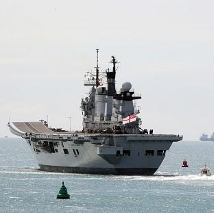 Lancaster And Morecambe Citizen: HMS Illustrious is the last of the Invincible class of aircraft carriers