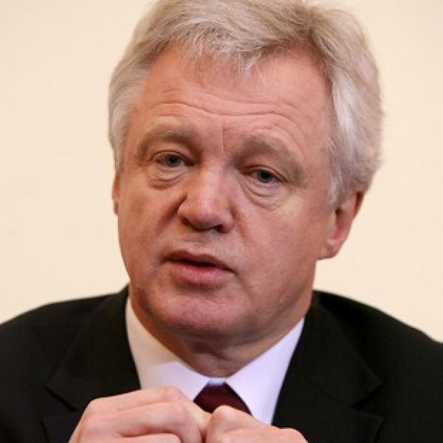 Lancaster And Morecambe Citizen: David Davis (pictured) and Tom Watson are applying for a judicial review
