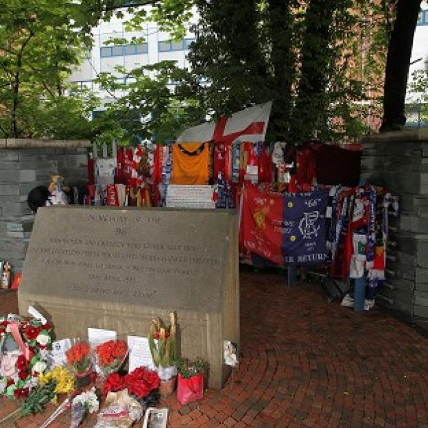 Lancaster And Morecambe Citizen: The memorial outside Hillsborough Stadium