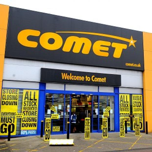 Lancaster And Morecambe Citizen: Comet collapsed with the loss of 7,000 jobs