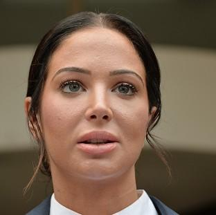 "Lancaster And Morecambe Citizen: Tulisa Contostavlos told how she suffered a ""very dark moment"" after false allegations about drugs were published"