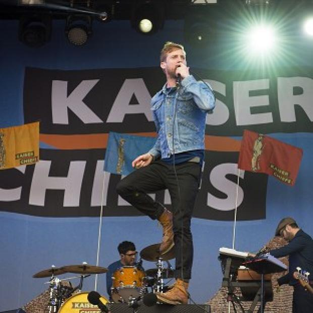 Lancaster And Morecambe Citizen: The Kaiser Chiefs are among the acts performing at the closing ceremony of the Invictus Games