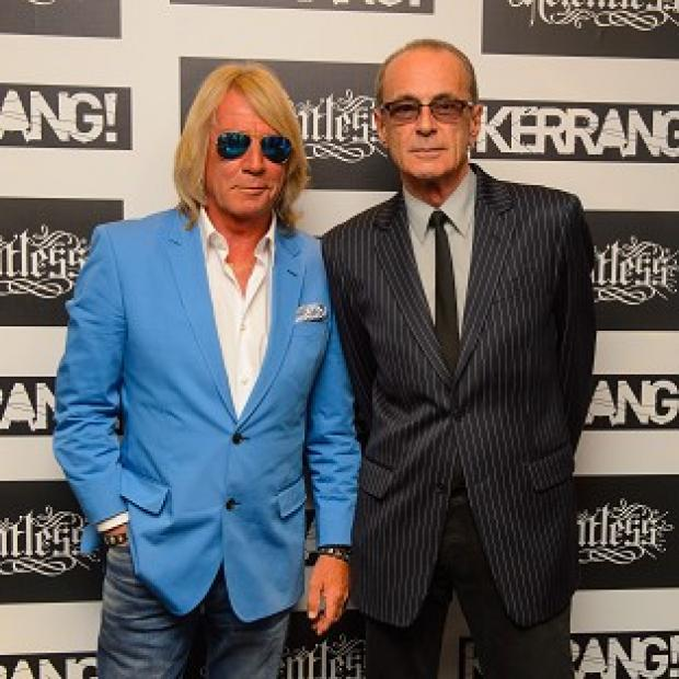 Lancaster And Morecambe Citizen: Status Quo have cancelled a number of concerts after Rick Parfitt (left) took ill