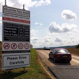 Lancaster And Morecambe Citizen: A private toll road that has opened near Bath, avoiding the closed section of the A431 between Bath and Bristol