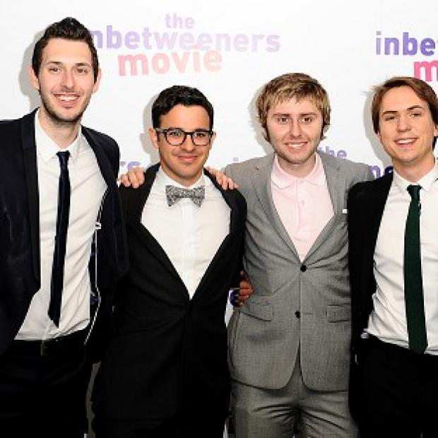 Lancaster And Morecambe Citizen: Blake Harrison, Simon Bird, James Buckley and Joe Thomas from the Inbetweeners