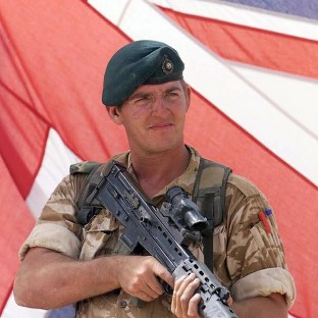 Lancaster And Morecambe Citizen: Former Royal Marine sergeant Alexander Blackman