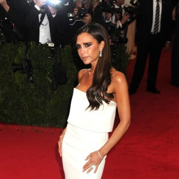 Lancaster And Morecambe Citizen: Victoria Beckham said choosing items for the sale of her clothing was an enjoyable experience