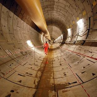 Lancaster And Morecambe Citizen: Crossrail is due to be fully operational by 2019