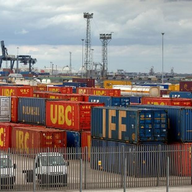 Lancaster And Morecambe Citizen: The value of exports fell by £400 million to £23.5 billion