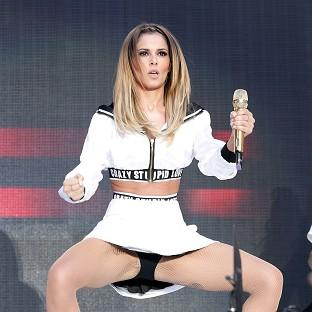 Lancaster And Morecambe Citizen: Cheryl Cole's Crazy Stupid Love slipped two places to number four on the singles chart