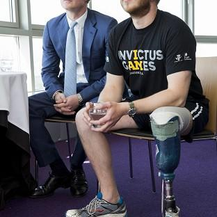 Lancaster And Morecambe Citizen: Prince Harry (left) is the driving force behind the Invictus Games