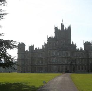 Lancaster And Morecambe Citizen: The fire scene was too dangerous to film at Highclere Castle, where Downton Abbey is filmed