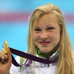 Lancaster And Morecambe Citizen: Lithuania's Ruta Meilutyte won a gold medal in the 100m breaststroke at the London 2012 Olympics