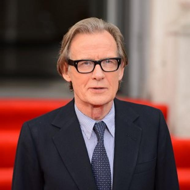 Lancaster And Morecambe Citizen: Bill Nighy said he was 'paralytically' self-conscious as a young actor