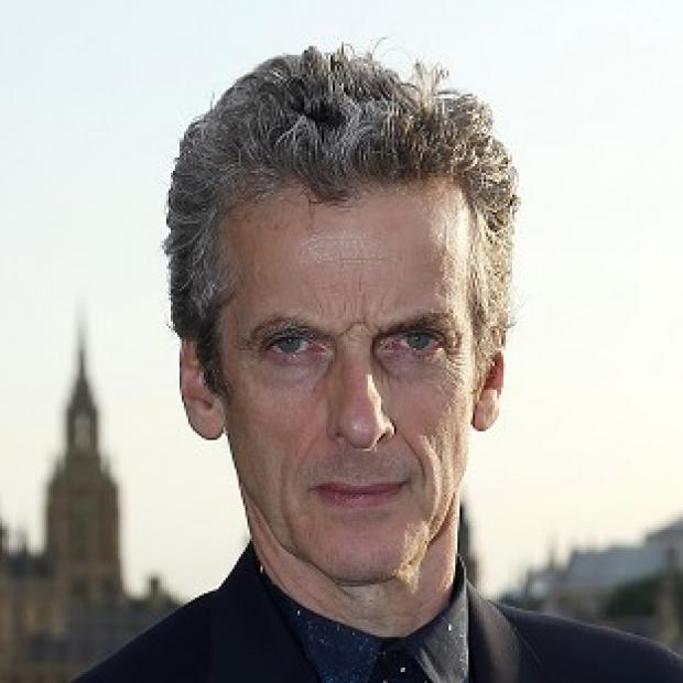 Lancaster And Morecambe Citizen: Peter Capaldi has appeared on TV screens as Doctor Who for the first time