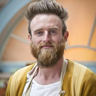 Lancaster And Morecambe Citizen: Iain Watters became the fourth baker to leave The Great British Bake Off after throwing his Baked Alaska in the bin during the contest (BBC/PA)