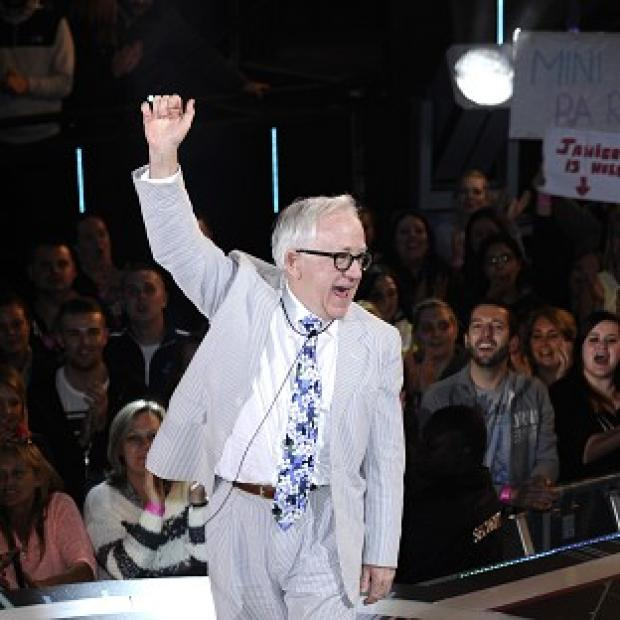 Lancaster And Morecambe Citizen: Channel 5 handout photo of Leslie Jordan as he is evicted from the Celebrity Big Brother house, at Elstree Studios, Borehamwood.