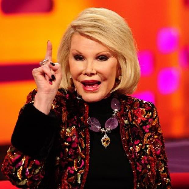 Lancaster And Morecambe Citizen: Comedian Joan Rivers, who has died