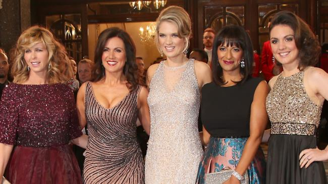 Susanna Reid sparkles on the red carpet in an eye-catching gown for