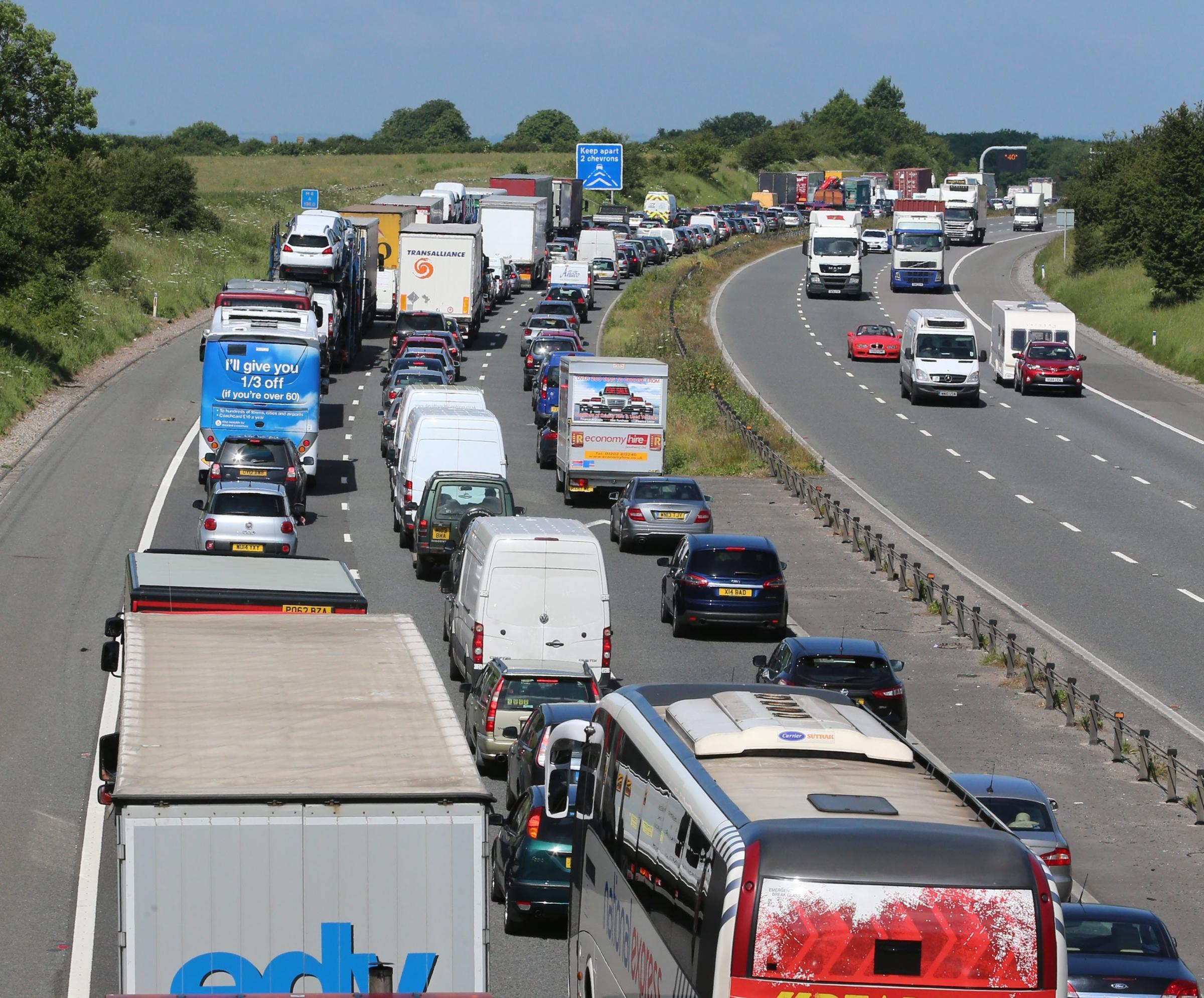 Easter bank holiday getaway - when to travel and which motorways to avoid