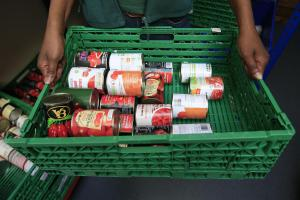RISING: Record numbers of people are receiving emergency parcels from foodbanks