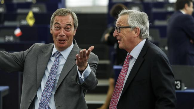 Bloody rude' Juncker could force UK to quit Brexit talks