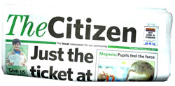 Lancaster And Morecambe Citizen: Static HTML image