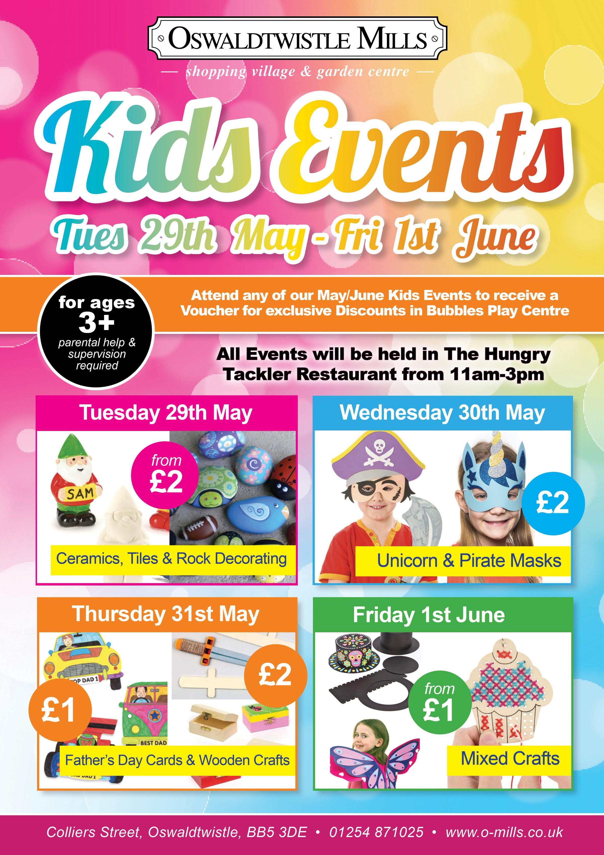 May Half Term at Oswaldtwistle Mills