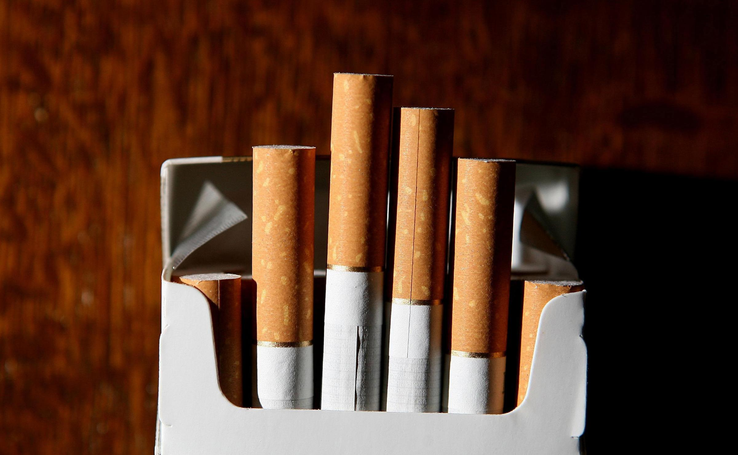 File photo dated 18/06/07 of cigarettes. George Osborne will make a pitch to ordinary working people today when he delivers his penultimate Budget before the general election.  PRESS ASSOCIATION Photo. Issue date: Wednesday March 19, 2014. See PA BUDGET s
