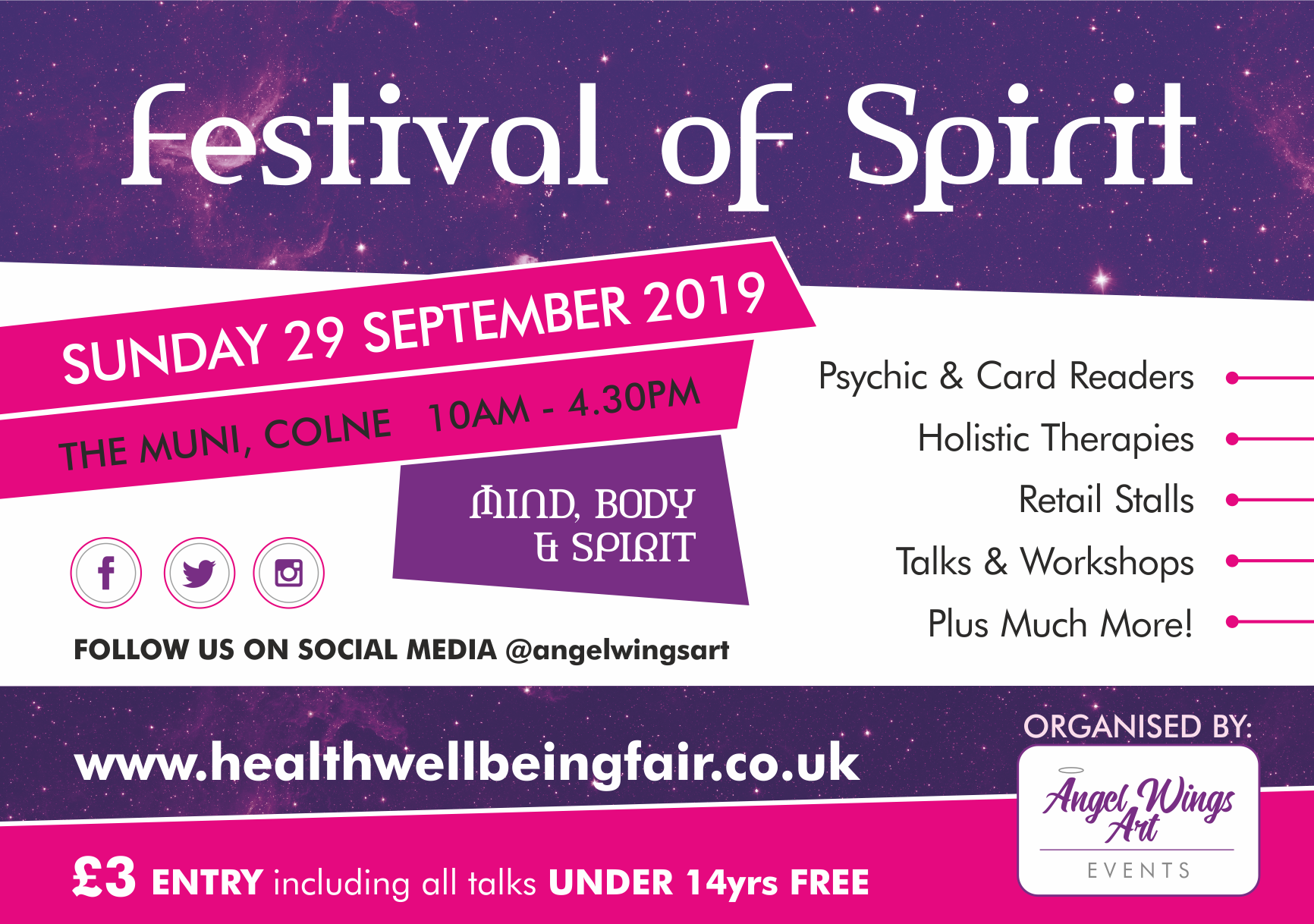 Festival of Spirit Autumn 2019