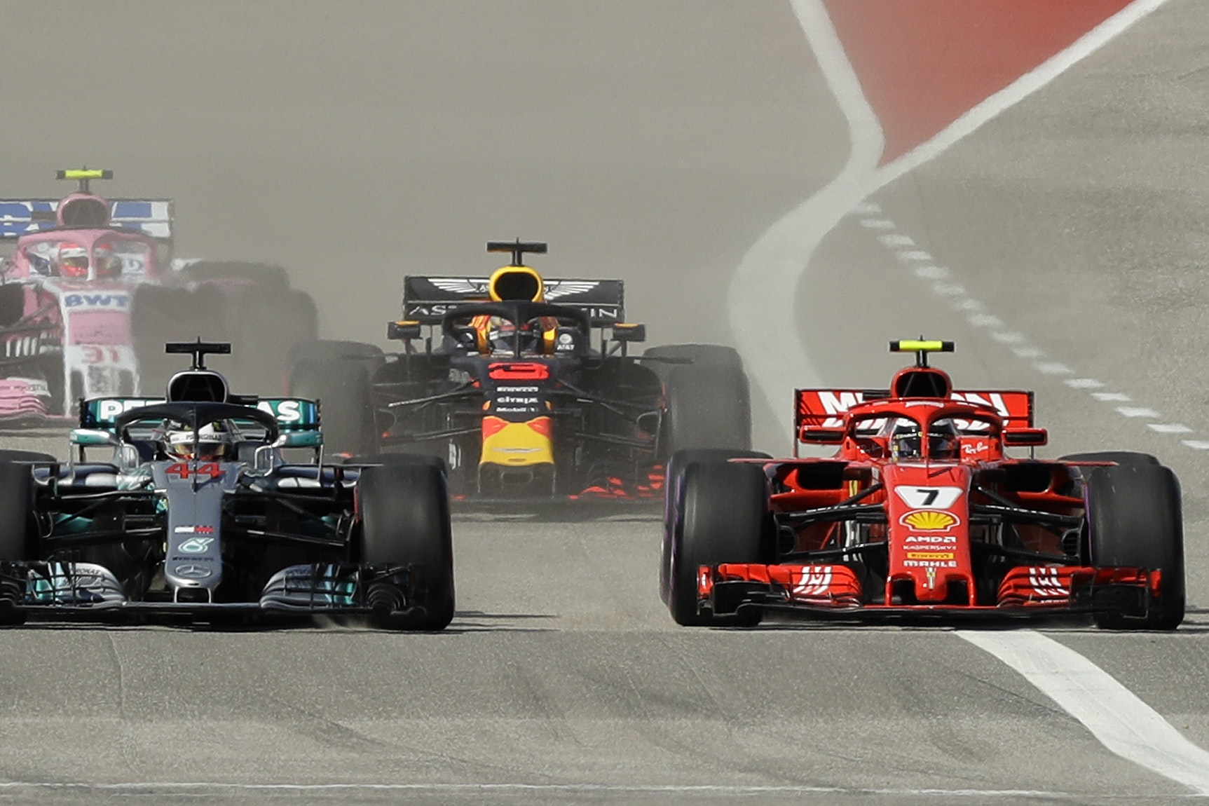 Cars at the US Grand Prix