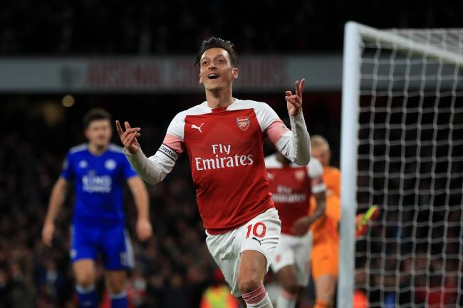 Mesut Ozil shone in Arsenal's latest win
