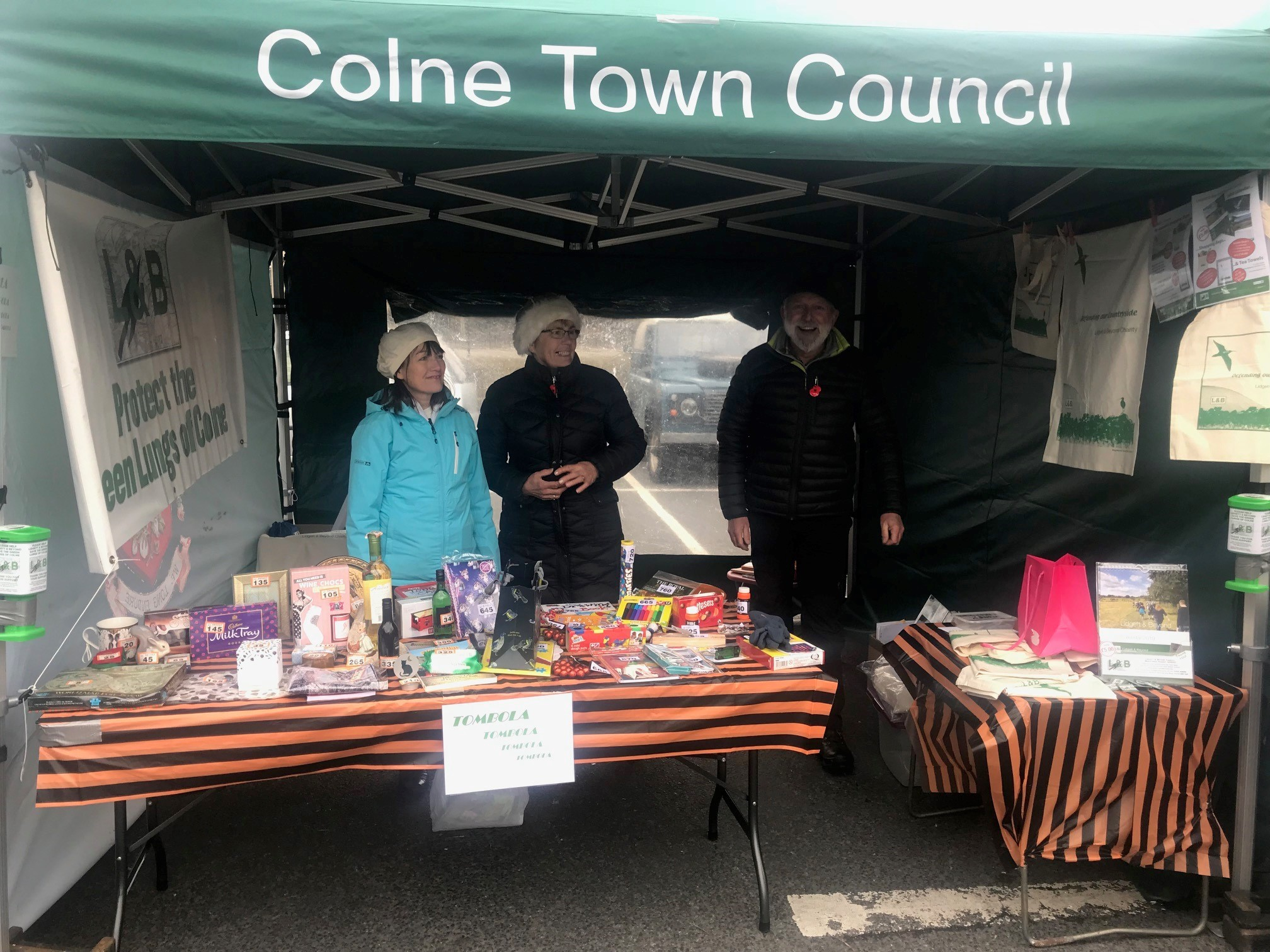 Lidgett and Beyond Halloween event. The group will now hold a stall at the Colne Christmas Market