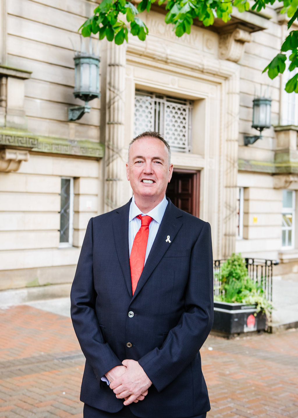Police and crime commissioner Clive Grunshaw