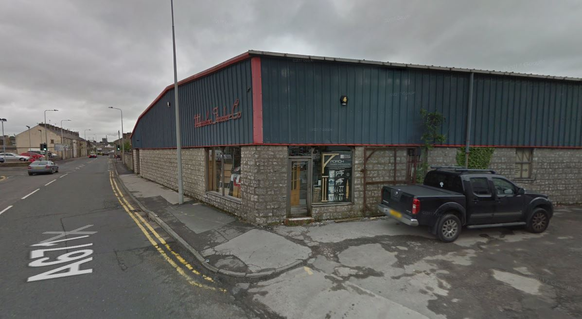 The fire started at Waterloo Timber Co in Waterloo Road, Clitheroe