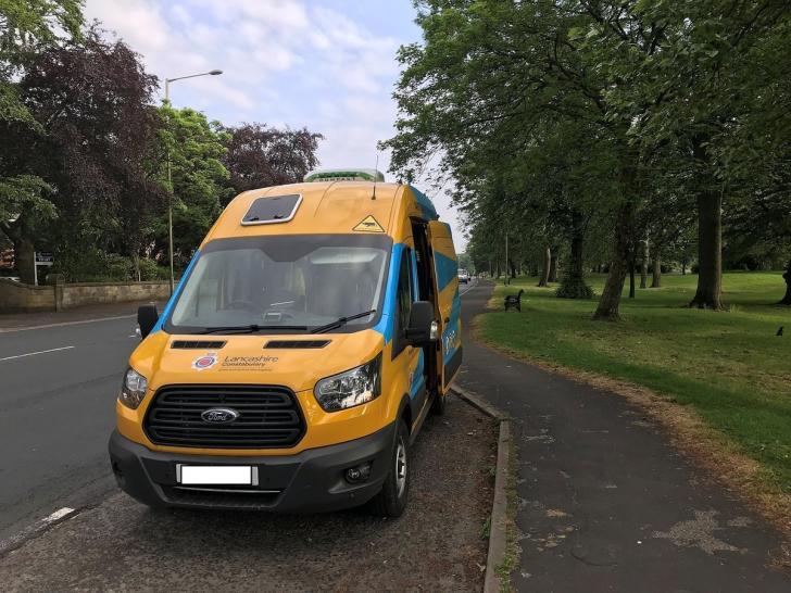 c692956433 Speed camera vans on East Lancashire roads in dangerous driving crackdown