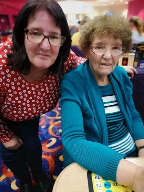 Pictures of old woman bingo