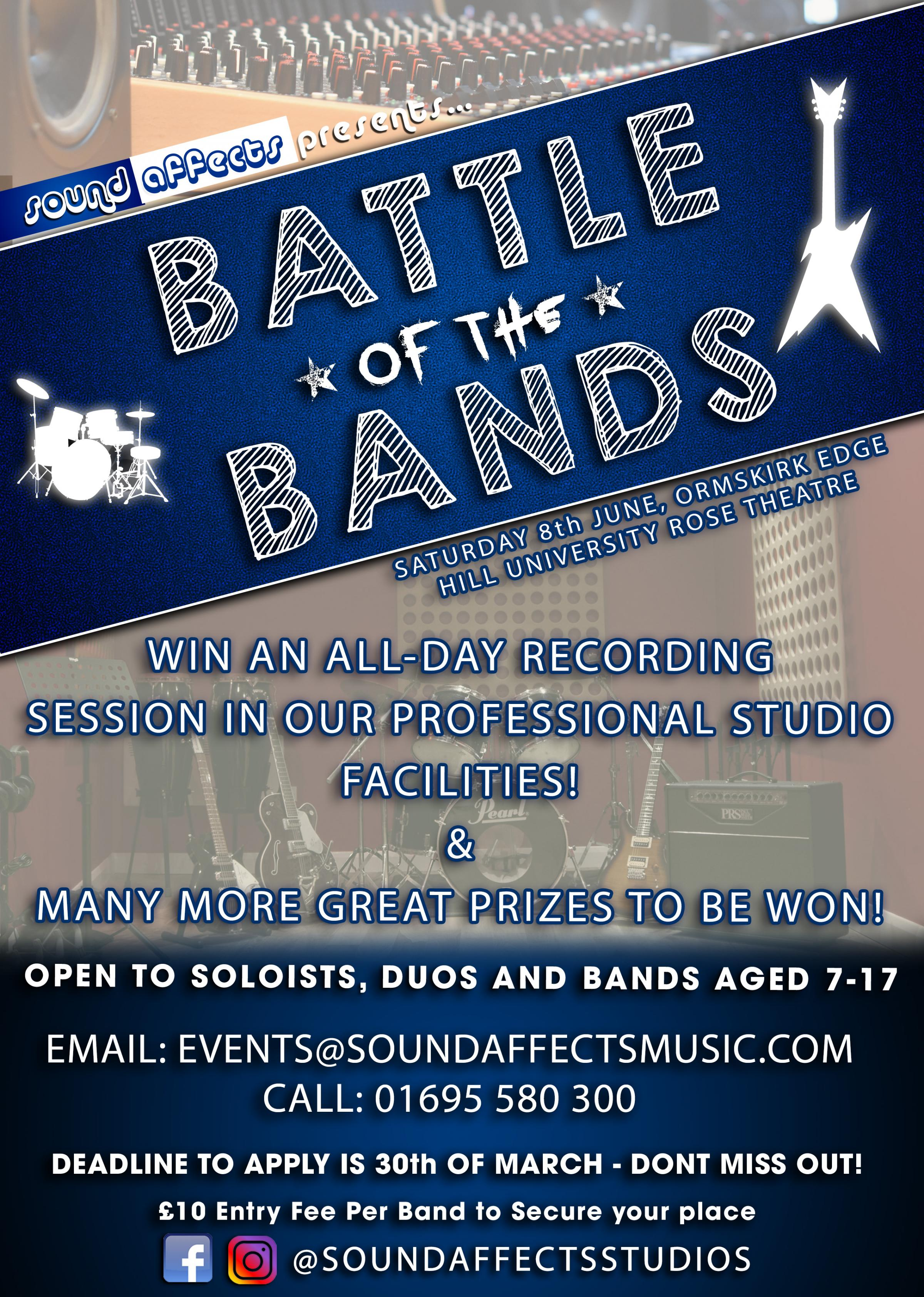 Sound Affects Music Battle of the Bands