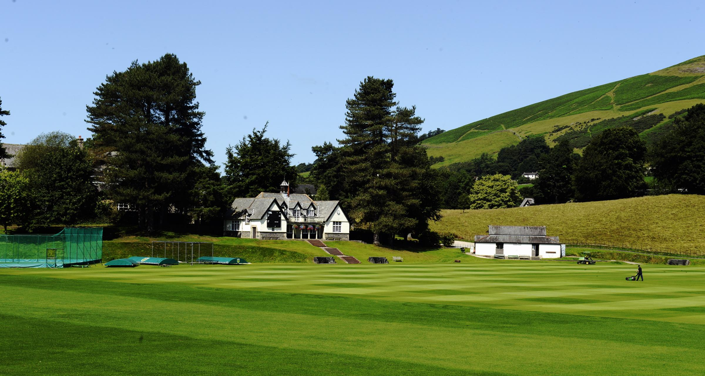 Sedbergh School, which will host the Lancashire v Durham clash. Pic: Jon Granger