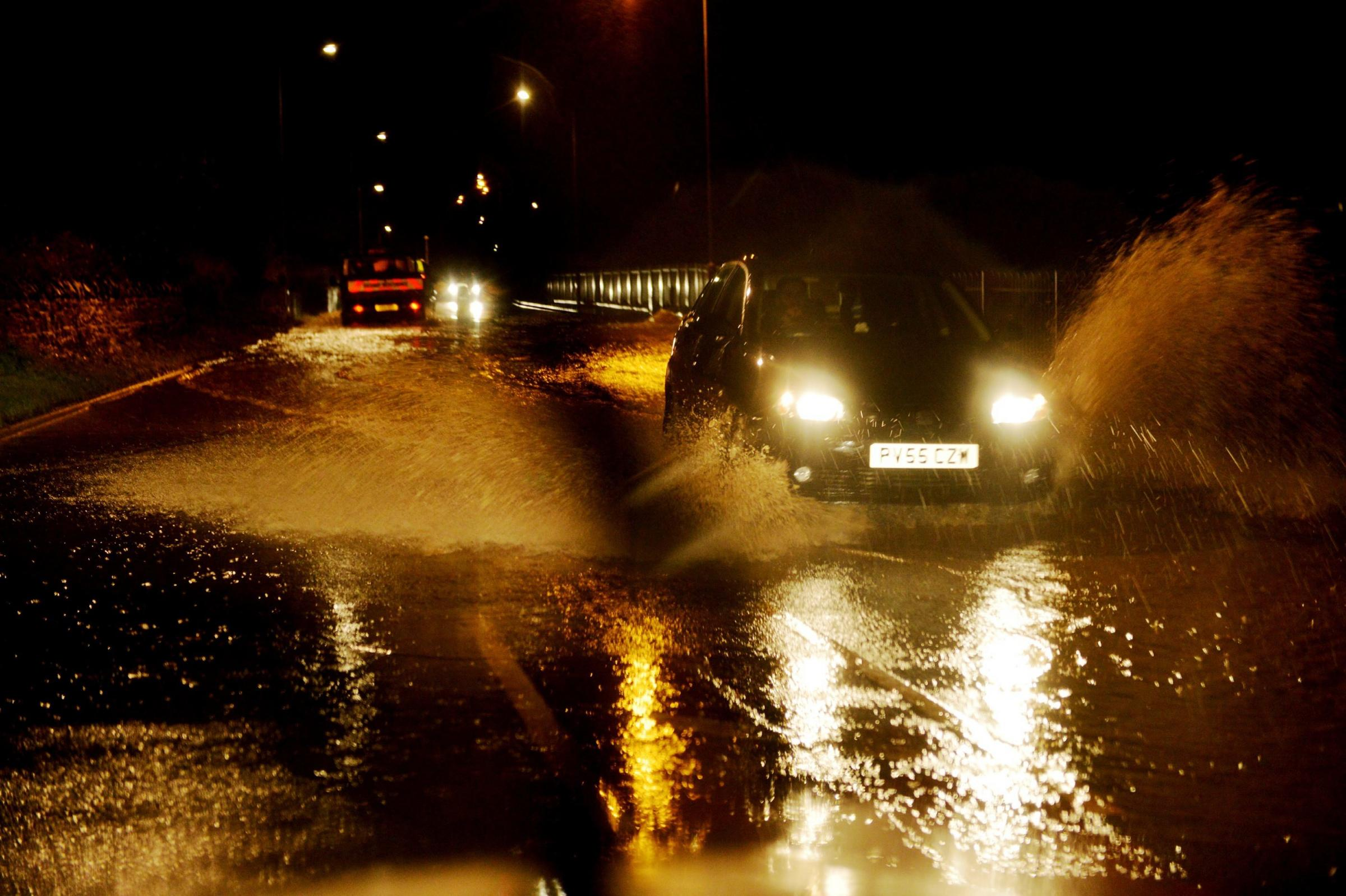 Heavy rain is expected to hit East Lancs from midnight