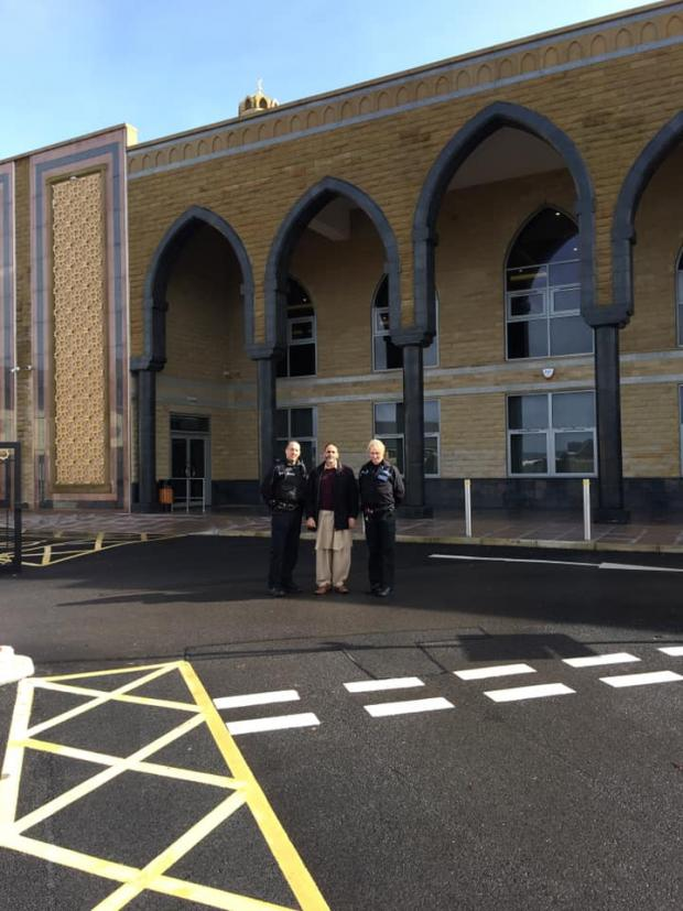 Lancaster And Morecambe Citizen: Visit by police to to Raza Jamia Masjid and community Centre Accrington