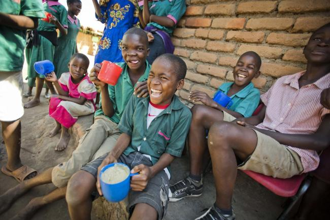 Mary's Meals children