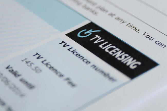 A free TV Licence will only be available to households with someone aged over 75 who receives Pension Credit from June 2020, the BBC has announced. Picture: Joe Giddens / PA Wire